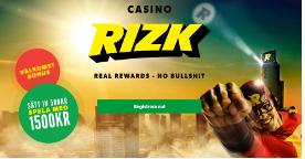 Rizk nya casinon online